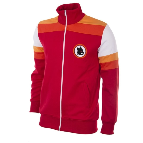 AS Roma Retro Trainingsjack 1979-1980 - Rood