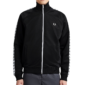 Fred Perry Taped Trainingsjack - Zwart
