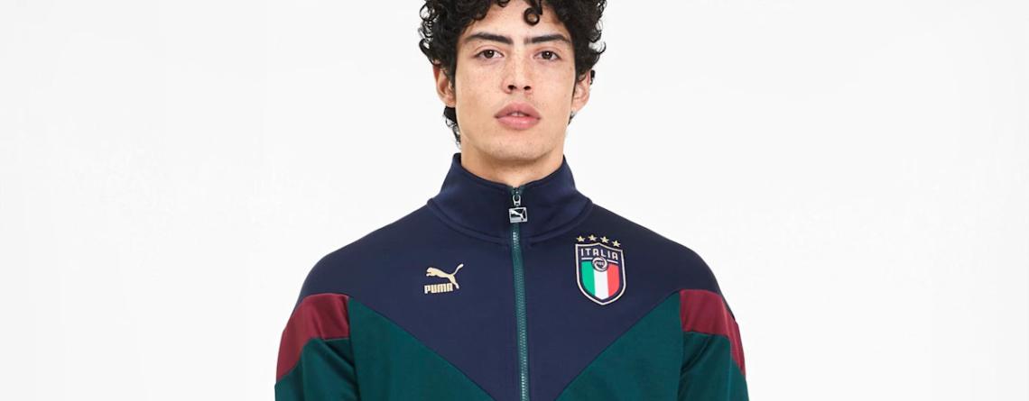 Italië retro trainingsjack PUMA