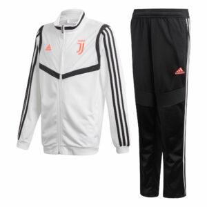 Juventus Trainingspak 2019-2020 - Wit/Zwart - Kinderen - 176